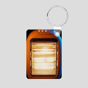 Electric heater Aluminum Photo Keychain