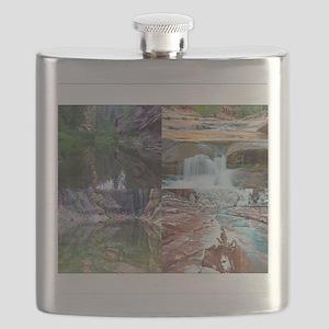 Sedona in Four Seasons Flask