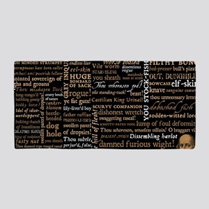 Shakespeare Insults Beach Towel