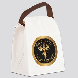 Knights of Wine Society Canvas Lunch Bag