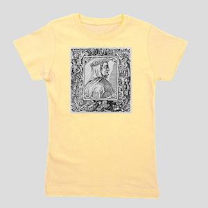 Francesco Petrarch, Italian poet Girl's Tee