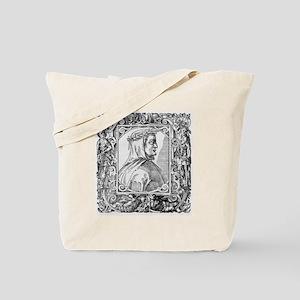 Francesco Petrarch, Italian poet Tote Bag