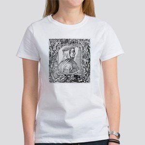 Francesco Petrarch, Italian poet Women's T-Shirt