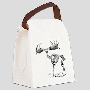Giant deer, 19th century artwork Canvas Lunch Bag
