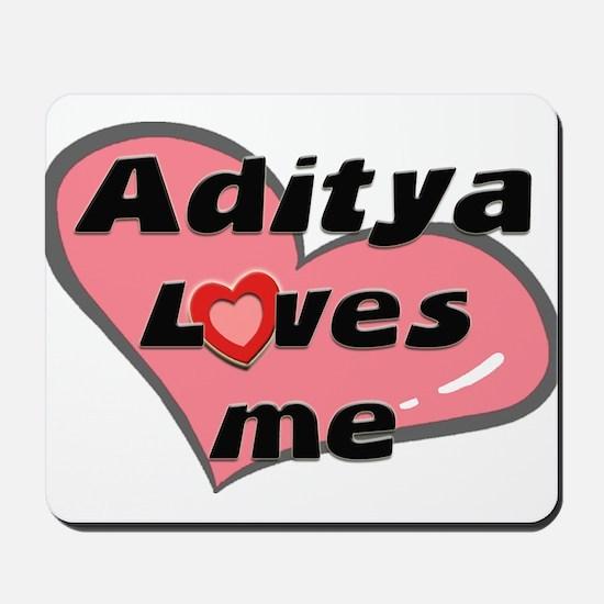 aditya loves me  Mousepad