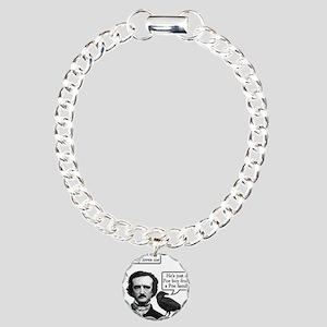 Poe Boy Charm Bracelet, One Charm