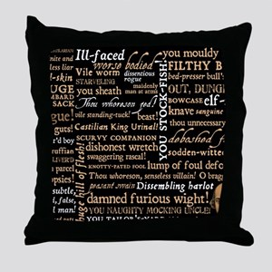 ShakespeareQuotes Throw Pillow