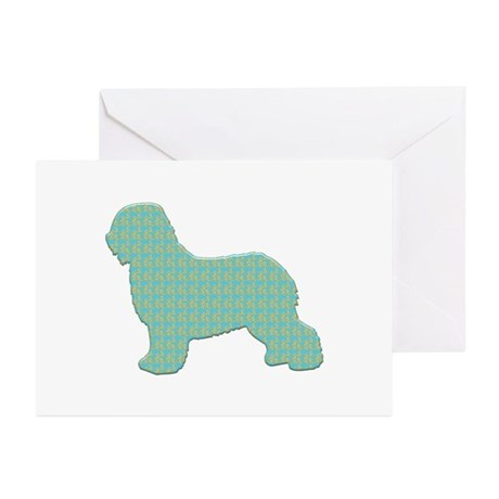 Paisley Schapendoes Greeting Cards (Pk of 10)