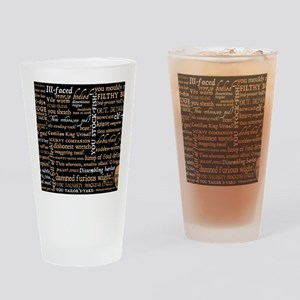ShakespeareQuotes Drinking Glass