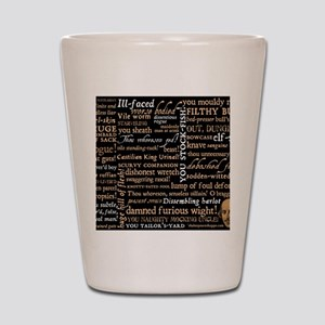 ShakespeareQuotes Shot Glass