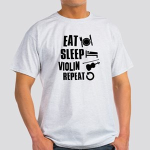 Eat Sleep Violin Light T-Shirt