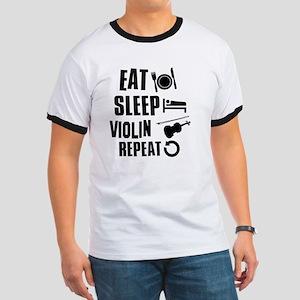 Eat Sleep Violin Ringer T