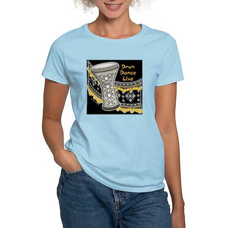 Drum Dance Live Blk Women's Light T-Shirt