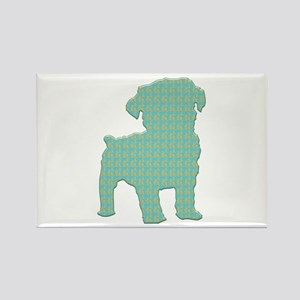 Paisley Schnoodle Rectangle Magnet