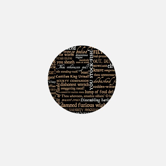 Shakespeare Quotes Mini Button