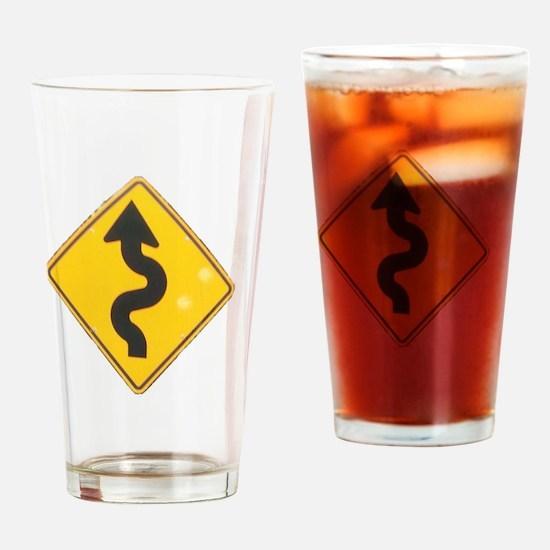 to hana sign Drinking Glass