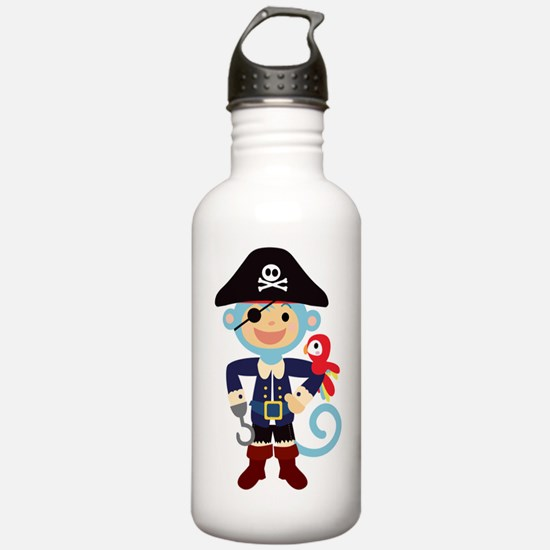 Captain Monkie Hooks Water Bottle