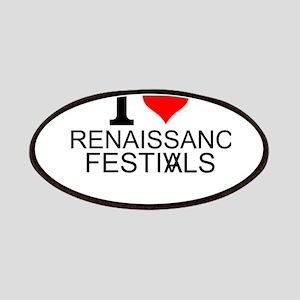 I Love Renaissance Festivals Patch