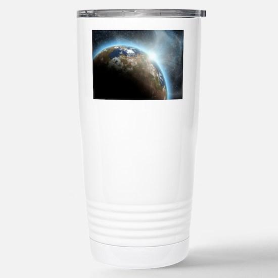te_calendar_print Stainless Steel Travel Mug
