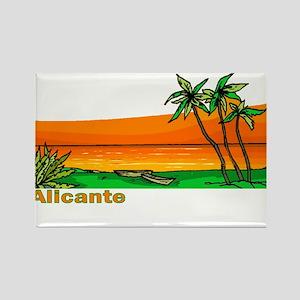 Alicante, Spain Rectangle Magnet