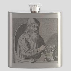 Johannes Trithemius, German polymath Flask