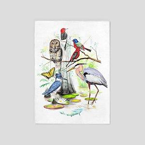 2011 Santee Bird Fest Design 5'x7'Area Rug