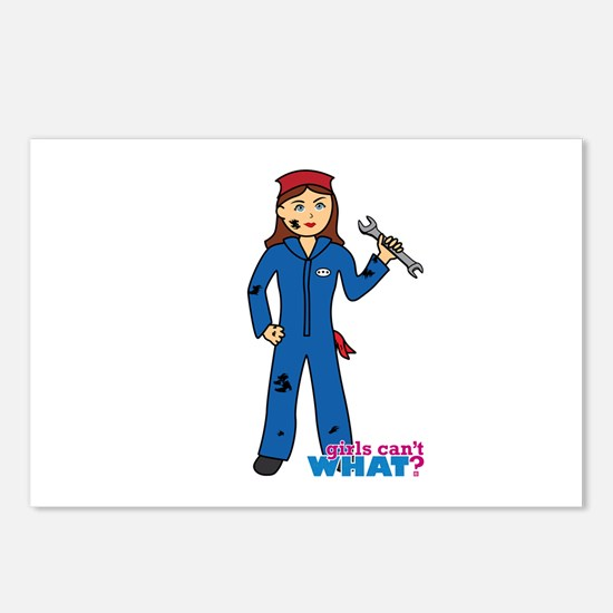 Mechanic Girl Postcards (Package of 8)