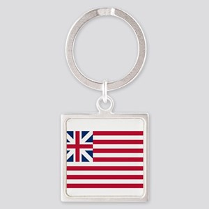 Grand Union Flag Square Keychain
