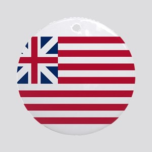 Grand Union Flag Round Ornament