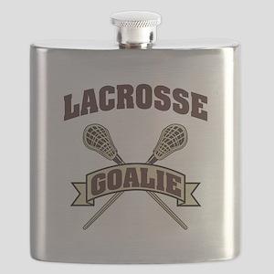 Lacrosse Goalie Flask