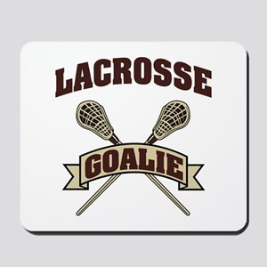 Lacrosse Goalie Mousepad