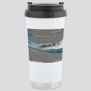 Penguins Stainless Steel Travel Mug