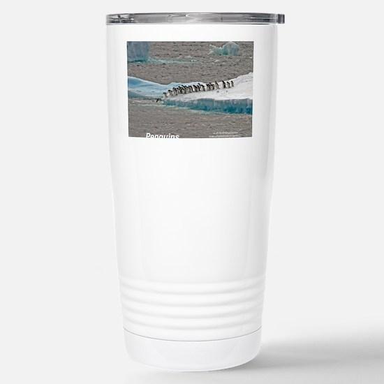 Penguins Stainless Steel Travel Mug