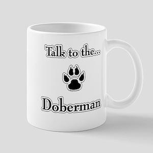 Doberman Talk Mug