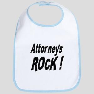 Attorneys Rock ! Bib