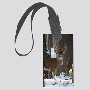 Trophy Whitetail D1316-014 Large Luggage Tag