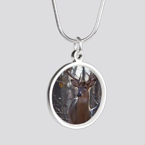 Dominant Buck D1342-025 Silver Round Necklace