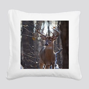 Dominant Buck D1342-025 Square Canvas Pillow