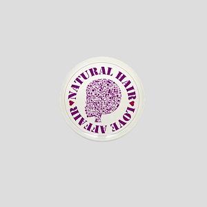 Natural Hair Love Affair Mini Button