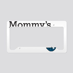 Mommys Lil  Captain License Plate Holder
