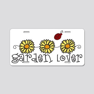 Garden Lover Aluminum License Plate