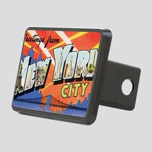 New York Rectangular Hitch Cover