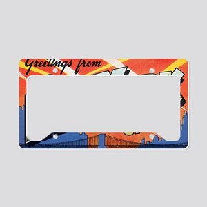 New York License Plate Holder