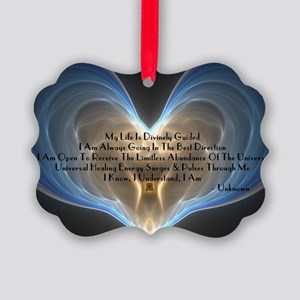 Divinely Guided Abundance Picture Ornament