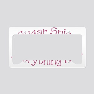 Everything Nice License Plate Holder