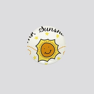 Mr. Sunshine Mini Button