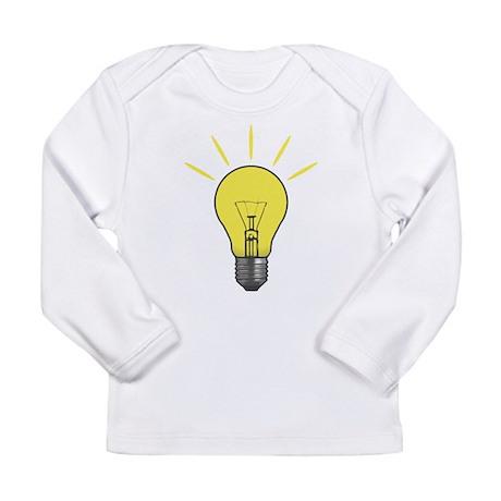 Bright Idea Light Bulb Long Sleeve Infant T-Shirt