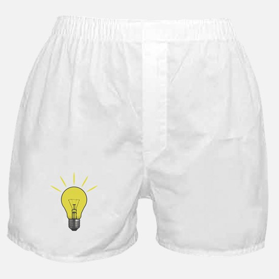 Bright Idea Light Bulb Boxer Shorts