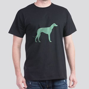 Paisley Lurcher Dark T-Shirt