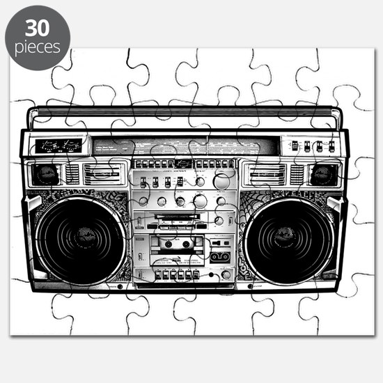 BOOM BOX OLD SCHOOL Puzzle